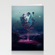 Flying Object Stationery Cards