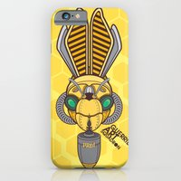 iPhone & iPod Case featuring Hornet Gas Mask by Freehand profit