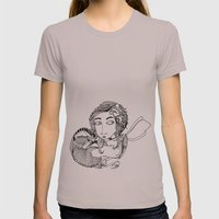 Laura Womens Fitted Tee Cinder SMALL