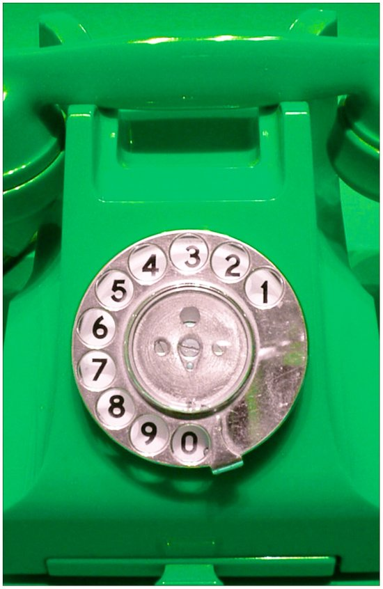 OLD PHONE - GREEN EDITION for Iphone Art Print