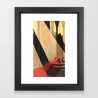Lamentation of a Widowed Queen Framed Art Print