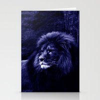 lion Stationery Cards featuring Lion by 2sweet4words Designs