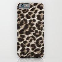 Snow Leopard iPhone 6 Slim Case
