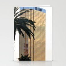 Trump In Las Vegas Stationery Cards