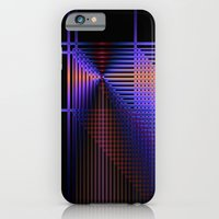 Geometric Abstract In Bl… iPhone 6 Slim Case