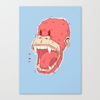 Unleash your inner monkey! Canvas Print
