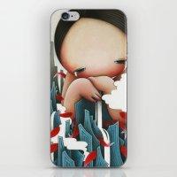 Crying Mountain iPhone & iPod Skin