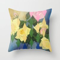 Edith Drummond Throw Pillow