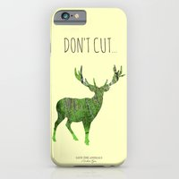 iPhone & iPod Case featuring Save the animals - Deer by Sitchko Igor