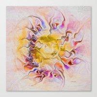 Sun Goddess Canvas Print