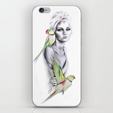Paradise no.1 iPhone & iPod Skin