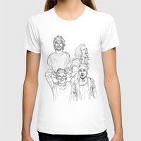 one direction T-shirts featuring One Direction by Cécile Pellerin