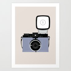 Diana Lomography Camera Art Print