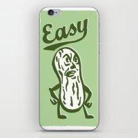 Easy Peanut iPhone & iPod Skin