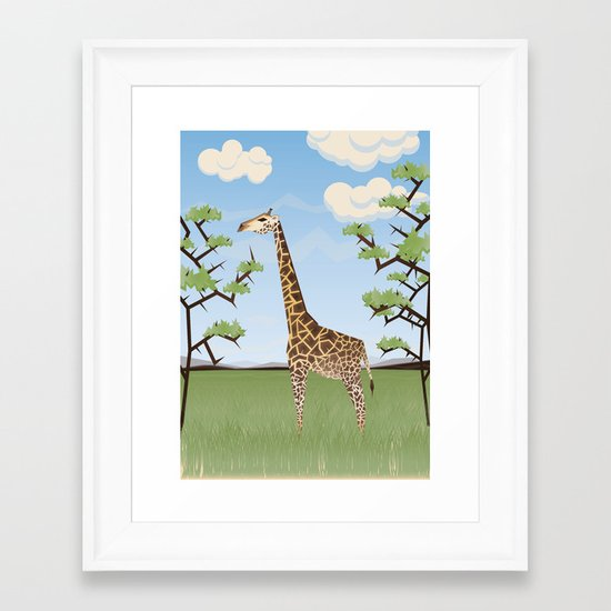 Safari Framed Art Print