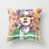 Summer's Yearnings Throw Pillow