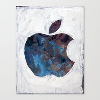 Painted Apple Canvas Print