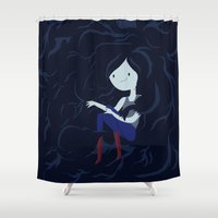 Vampire Queen  Shower Curtain