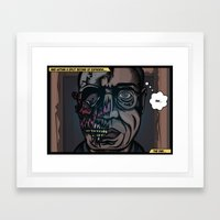 And Within A Split Secon… Framed Art Print