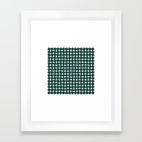 #256 Two-hundred and fifty-six squares – Geometry Daily Framed Art Print