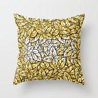 Mint! (Gold) Throw Pillow