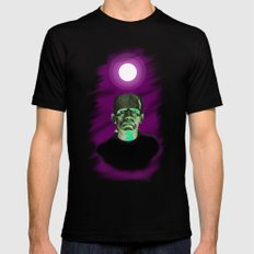 Frankenstein  SMALL Black Mens Fitted Tee