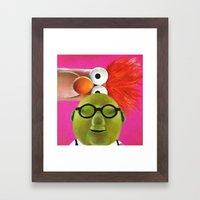 The Muppets - Bunsen And… Framed Art Print