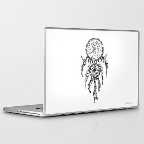 Dreamcatcher Pixel Art Laptop & iPad Skin