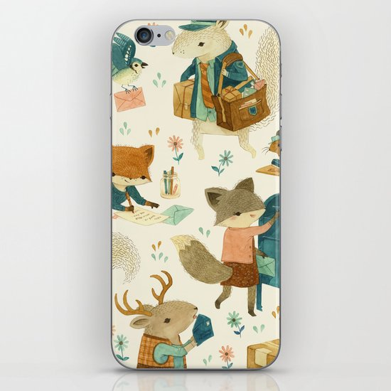 Critter Post iPhone & iPod Skin