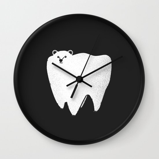 Molar Bear Wall Clock