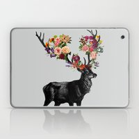 Spring Itself Deer Floral Laptop & iPad Skin