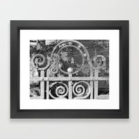 The MAGIC Gate - another dimension Framed Art Print