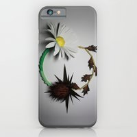 iPhone & iPod Case featuring Good vs Evil by Tom Canty Illustration