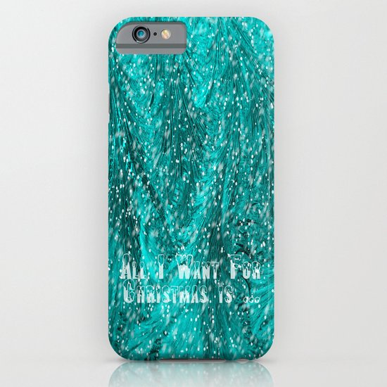 Want for Christmas iPhone & iPod Case