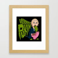 Vlad Pukin' Framed Art Print