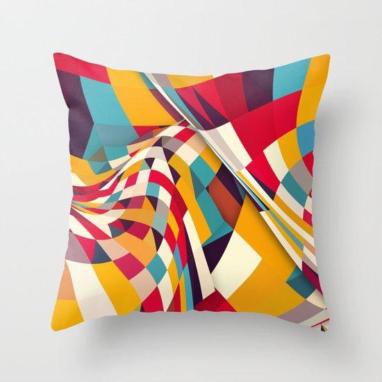 Nazca Throw Pillow