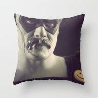 I'm No Joke Throw Pillow