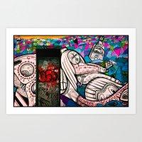 Street Art - Williamsbur… Art Print