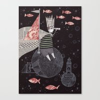 Five Hundred Million Lit… Canvas Print