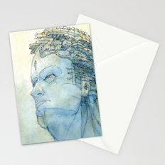 Ritratto di Fantasia color version Stationery Cards