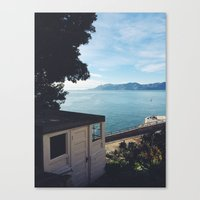 Alcatraz View Of San Fra… Canvas Print