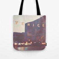 Venice beach California Tote Bag