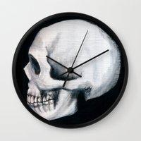 Bones XII Wall Clock