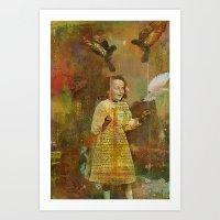 Let the birds go Art Print