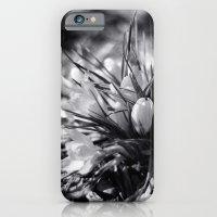 Sunlit Crocus In Black A… iPhone 6 Slim Case