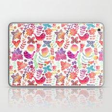 Watercolor garden Laptop & iPad Skin