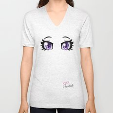 Parenthesis Humor Eyes Unisex V-Neck