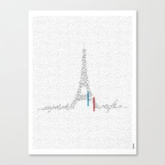 Eiffel Tower | Paris, France | Esperantos | StoryScape #1 Canvas Print