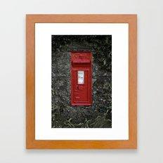 Postbox Framed Art Print