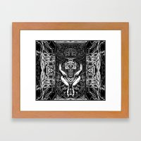 3:33 Live From the Grove - Moloch print Framed Art Print